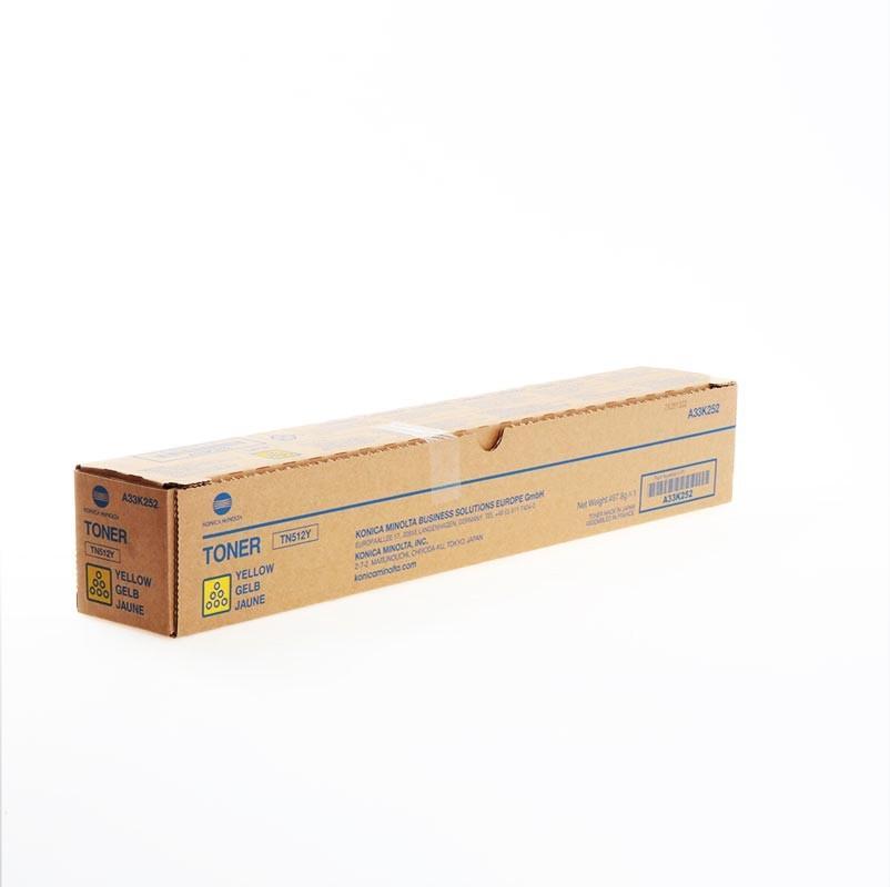 Konica Minolta Tóner amarillo A33K252 TN512 26000 páginas