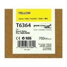 CARTUCHO DE TINTA AMARILLO 700 ML EPSON T6364