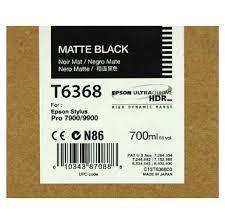 CARTUCHO DE TINTA NEGRO MATE 700 ML EPSON T6368