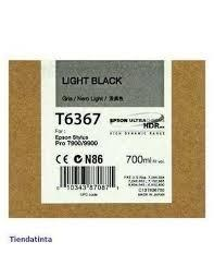 CARTUCHO DE TINTA GRIS 700 ML EPSON T6367