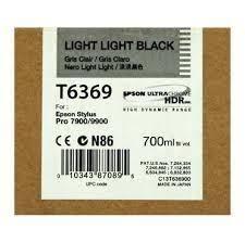CARTUCHO DE TINTA GRIS CLARO 700 ML EPSON T6369