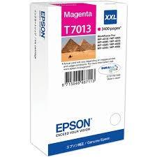 CARTUCHO DE TINTA MAGENTA XXL SUPER ALTA CAPACIDAD EPSON T7013 para WorkForce Pro WP-4595DNF