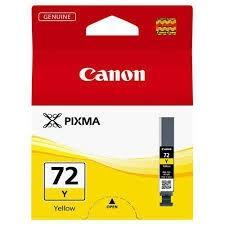 CANON CARTUCHO DE TINTA AMARILLO PGI-72Y 6406B001 14ML