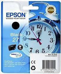 Cartucho de Tinta negro 6.2 ml Epson 27 - (T2701)