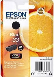 Cartucho de Tinta negro 6.4 ml Epson 33 - (T3331)