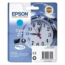 Cartucho de Tinta Cian 3.6 ml Epson 27 - (T2702)