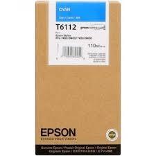 Cartucho de Tinta Cian 110 ml Epson T6112