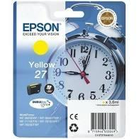 CARTUCHO DE TINTA AMARILLO 3.6 ML EPSON 27 - (T2704) para WorkForce WF-7620DTWF