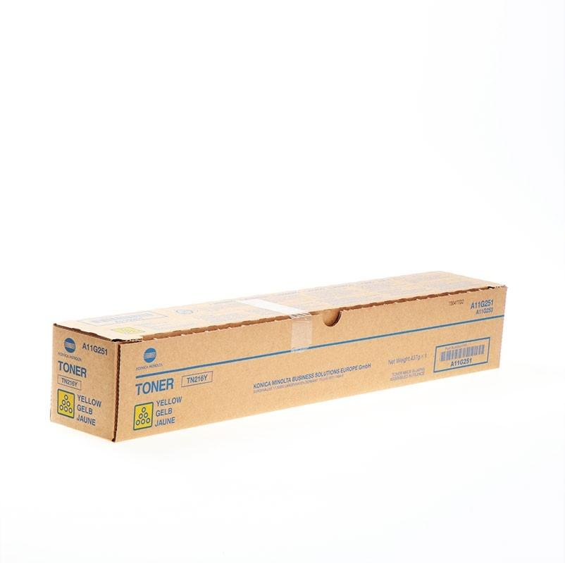 Cartucho de toner Copiadora Amarillo Konica-Minolta TN-216Y