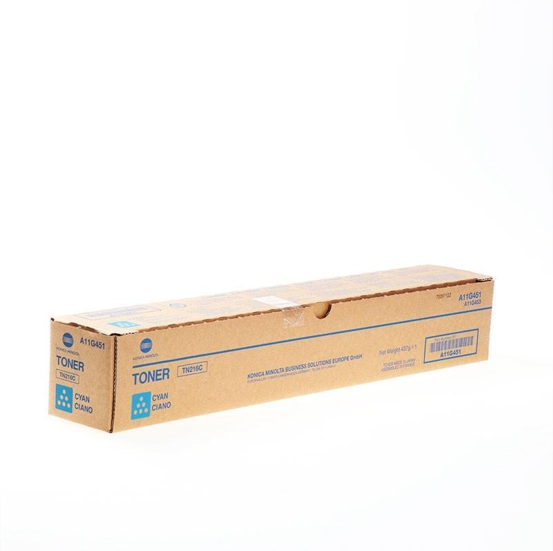 Cartucho de toner Copiadora Cian Konica-Minolta TN-216C