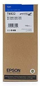 Cartucho de Tinta Cian 110 ml Epson T6922
