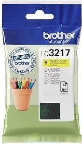 Cartucho de tinta amarillo LC3217Y LC-3217 550 Copias