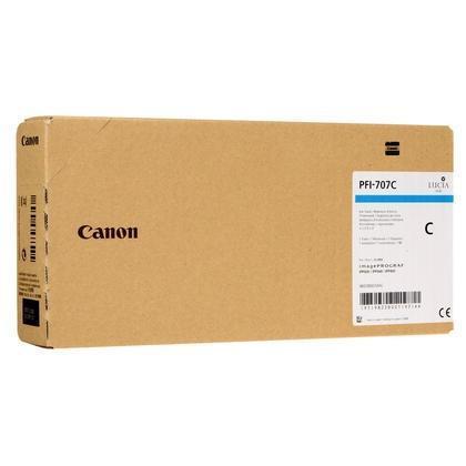 Cartucho de tinta cian PFI-707c 9822B001 700ml
