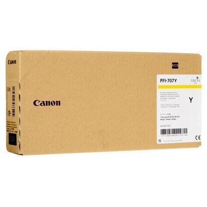 Cartucho de tinta amarillo PFI-707y 9824B001 700ml