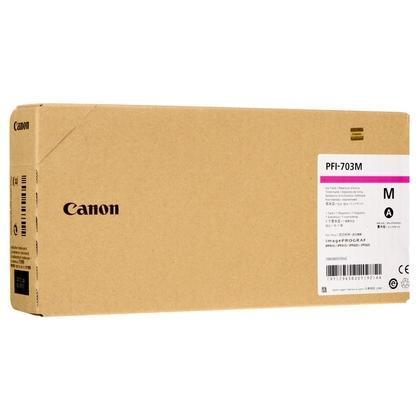 Cartucho de tinta magenta PFI-707m 9823B001 700ml