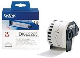 cinta de Papel Blanca 50 mm 30 48M DK-22223