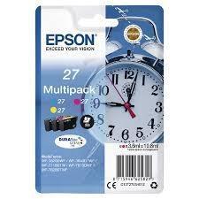 Epson Multipack cian / magenta / amarillo C13T27054012 T2705 3 Cartuchos de tinta: T2702 + T2703 + T2704