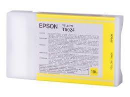 Cartucho de Tinta Amarillo 110 ml Epson T6024