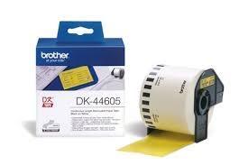 cinta de Papel removible Amarilla 62 mm 30 48M DK-44605