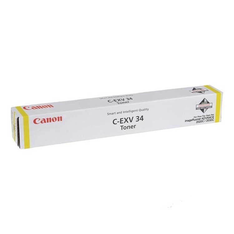 Cartucho de tóner Copiadora Amarillo C-EXV-34