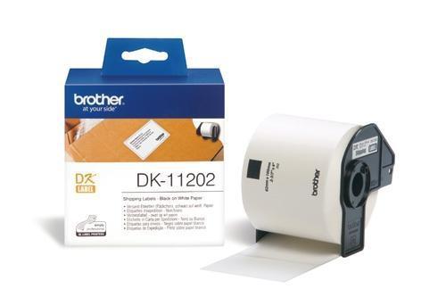 Etiquetas para Envios Papel 62X100 mm DK-11202