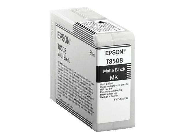 CARTUCHO DE TINTA NEGRO MATE 80 ML T8508 para SureColor SC-P800