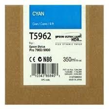 CARTUCHO DE TINTA CIAN 350 ML EPSON T5962 para Stylus Pro 9890