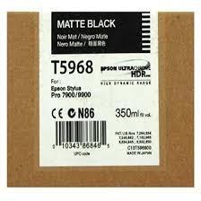 CARTUCHO DE TINTA NEGRO FOTO 350 ML EPSON T5968 para Stylus Pro 7890 SpectroProofer UV