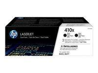 HP 410X Negro 2 pieza(s)