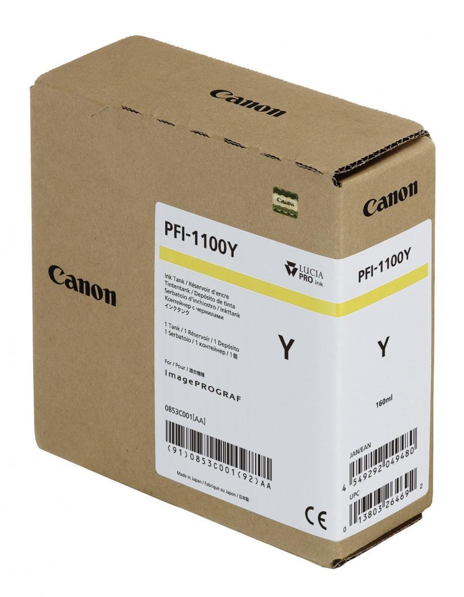 IPF PRO2000/4000/4000S/6000S CARTUCHO AMARILLO PFI-1100Y