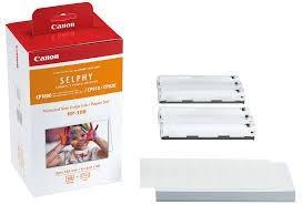Kit de casete con cinta de impresión y papel RP-108