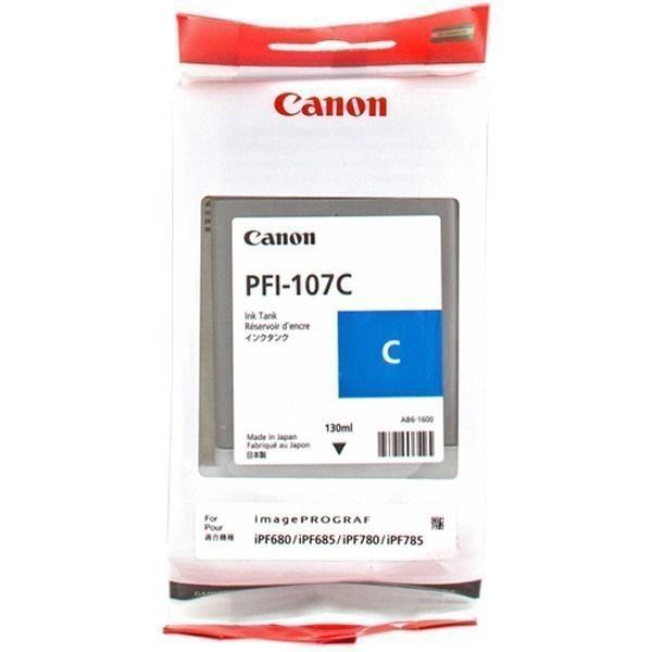 Canon Cartucho de tinta cían PFI-107c 6706B001 130ml