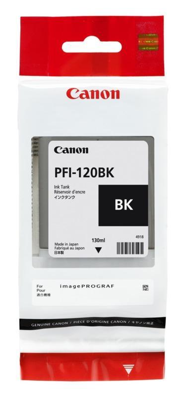 Tinta TM-200/TM-205/TM-300/TM-305 PFI-120 BK