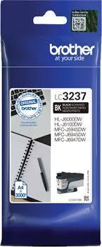 Cartucho de tinta negro LC3237BK
