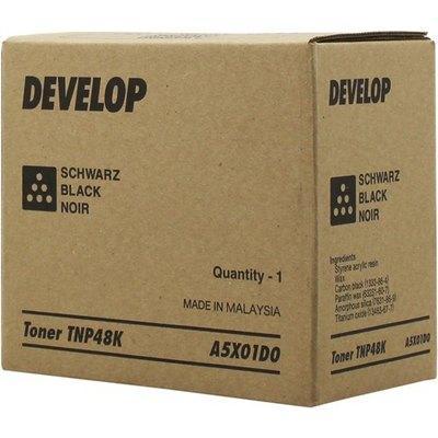 Tóner negro A5X01D0 TNP48K 10000 páginas