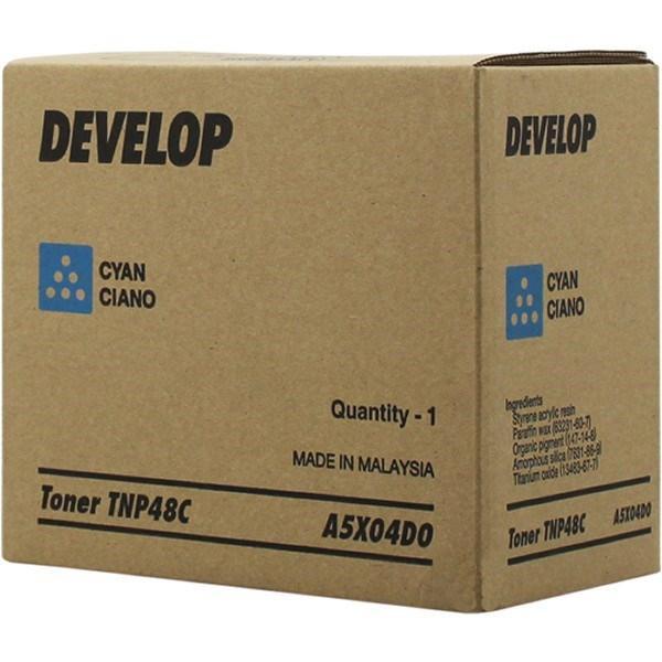 Tóner cian A5X04D0 TNP48C 10000 páginas