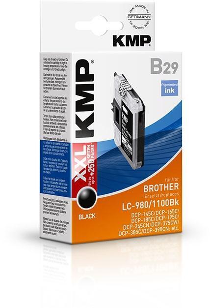 Comprar Cartucho de tinta KMP-LC980BK de KMP online.
