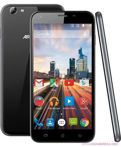 Smartphones ARCHOS HELIUM 55, 14 CM (5.5), 16 GB, 8 MP, ANDROID, 6.0, GRIS