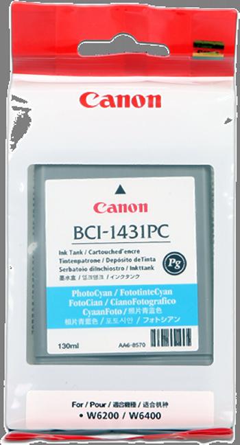 Cartuchos de tinta CARTUCHO DE TINTA FOTOGRAFICO CIAN CANON BCI-1431PC