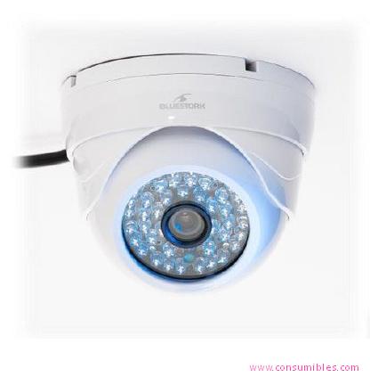 Camara de vigilancia BLUESTORK BS-CAM/DO/HD IP INTERIOR DOME COLOR BLANCO CÁMARA DE VIGILANCIA