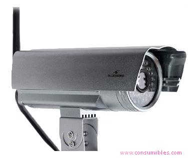 Camara de Vigilancia BLUESTORK BS-CAM-OF/HD IP SECURITY CAMERA EXTERIOR BALA PLATA CÁMARA DE VIGILANCIA