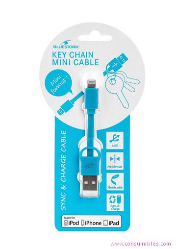 Cables USB BLUESTORK BS-USB-IKEY/BL CABLE USB