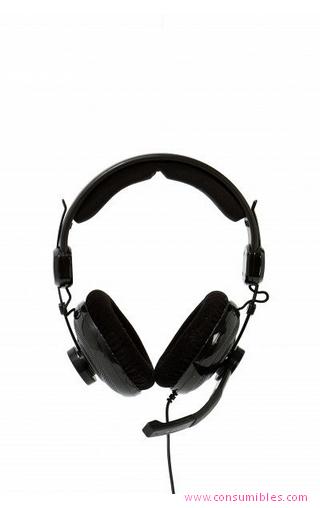 Auriculares con microfono AURICULARES CON MICRÓFONO BLUESTORK MC600 BINAURALE DIADEMA NEGRO AURICULAR CON MICRÓFONO (BS-MC600)