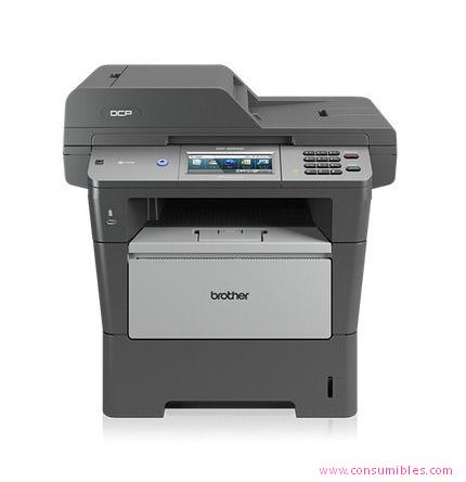 Impresoras láser o led BROTHER IMPRESORA MULTIFUNCIÓN LASER DCP-8250DN MONOCROMO 40PPM 1200X1200DPI A4 DCP8250DN