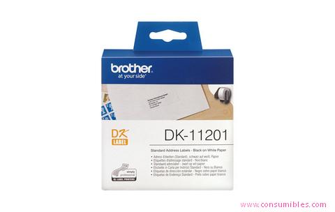 Comprar Etiquetas precortadas DK11201 de Brother online.