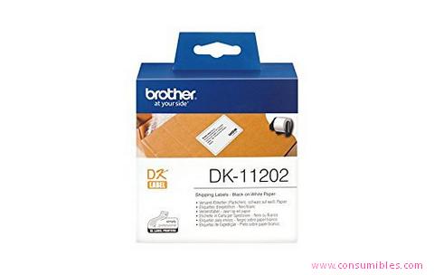Comprar Etiquetas precortadas DK11202 de Brother online.