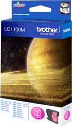 CARTUCHO DE TINTA MAGENTA BROTHER LC-1100M