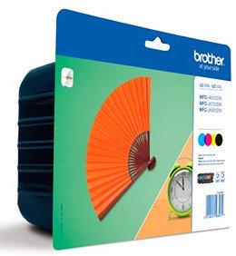 Comprar Rainbow pack cartuchos de tinta alta capacidad LC129XLVALBP de Brother online.