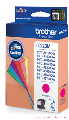 Comprar cartucho de tinta LC223MBP de Brother online.