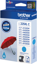CARTUCHO DE TINTA CIAN 11.8 ML BROTHER LC-225